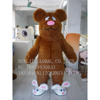 Buy cheap cute rabbit shoes bear mascot costume, advertising fur bear mascot costume from wholesalers