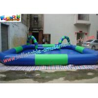 Buy cheap OEM or ODM Outdoor Kids Inflatable Swimming Water Pools 10 x 8 meter, with Custom Printed from wholesalers