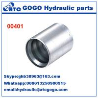 Buy cheap Carbon Steel Hose Quick Coupling Fittings FERRULES FOR 4SH R12/32 HOSE  00401 from wholesalers