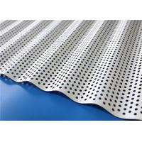 Buy cheap Powder Coated Architectural Metal Panels Sound Insulation Corrugated Aluminum Sheet from wholesalers