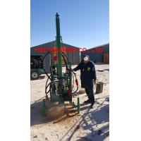 Buy cheap Working in abroad, HD-40D MAN PORTABLE DRILLING RIG for seismic shot hole, with portable air compressor from wholesalers