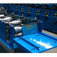 China Building Material Roofing Ridge Cap Roll Forming Machine Steel Tile Type on sale