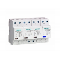 Buy cheap 255V 100kA Low Voltage  UL94-VO 3P+NPE Power Surge Arrester from wholesalers