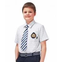 Buy cheap School Uniform Shirt  for kidswear in quality softable material from wholesalers