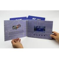 Buy cheap Full print 4.3 inch video flyer,quality lcd video mailer card,digital video catalogue brochure from wholesalers