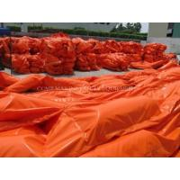 Buy cheap Anti-Solarization Oil Spill Containment Boom PVC Float Boom from wholesalers