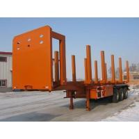 Buy cheap SKW9405P Carbon Steel Logging Trailer For Log / Wood / Timber Transporting from wholesalers