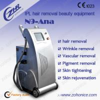 Buy cheap Depilation Fast Laser IPL Machine N9-Ana For Hair Removal  Skin Rejuvenation 8X40mm2 from wholesalers