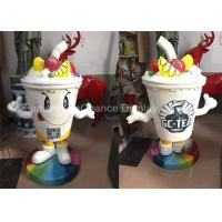 Buy cheap Outdoor Large Size Fiberglass Resin Statues Advertising Drinks Cup Sculpture from wholesalers