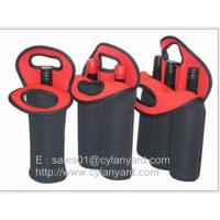 Buy cheap Wine bottle neoprene cooler handbag selection, tailor made neoprene bottle coolers, product