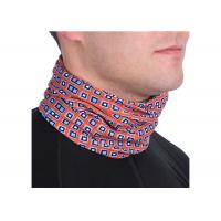 Buy cheap News Paper Design UV  Headwear Microfiber Polyester Seamless Scarf from wholesalers