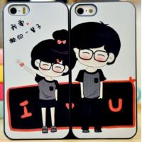China Couple protective case for iPhone 5/5S on sale
