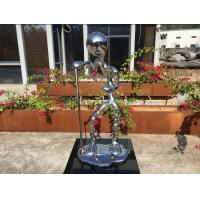 Buy cheap Stainless Steel Metal Figure Sculpture Mirror Polished For Home Decoration from wholesalers
