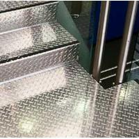 Buy cheap Five Bar Tread Plate Diamond Plate Aluminum Sheet for Workshop Stair floor from wholesalers