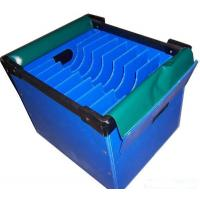 Buy cheap Virgin Polypropylene Turnover Corrugated Plastic Boxes Flame Retardant from wholesalers