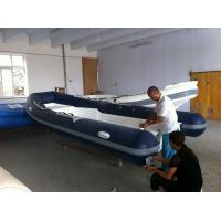 Buy cheap Hot Sale EC Approved RIB Boat 5m Open Floor RIB Inflatable Boat for 8 Persons/ PVC Hypalon Material RIB Inflatable Boat from wholesalers