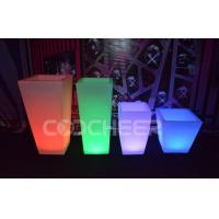 Buy cheap Remote Control Illuminated Led Lighted Flower Pots / Flower Planter Luxury from wholesalers