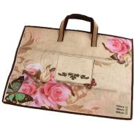 Buy cheap Laminated Non Woven Bag Eco Friendly Reusable Tote Bag Tote Bag With Zipper from wholesalers