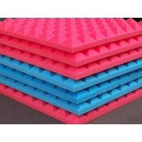 Buy cheap Multi Color PU Sound Deadening Foam , Eco Music Room Acoustic Foam Panels Pyramid Shape from wholesalers