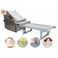Buy cheap High Efficiency Automatic Pasta Machine Pizza Dough Sheeter 304 Stainless Steel Material from wholesalers