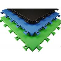 Quality Anti Static Fitness Room Flooring , Indoor Flooring Anti Ultraviolet Radiation for sale