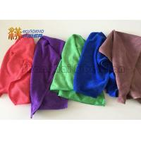 Buy cheap 350gsm Durable Microfiber Cleaning Cloth , Microfiber Towels For Cars 100% Polyester from wholesalers