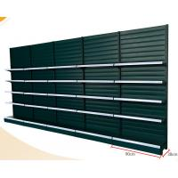 Buy cheap Strip Type Back Panel Supermarket Display Shelving With Hook / Basket Accessories from wholesalers