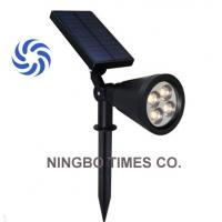 Buy cheap Quick Installation Solar LED Spotlight IP65 Waterproof 4 LED Solar Lights from wholesalers