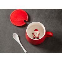 Buy cheap Supermarket 13 Oz 400CC Christmas Ceramic Mugs product