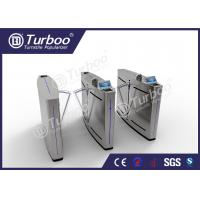Buy cheap Intelligent Flap Barrier Gate Turnstile Entry Systems For High Class Communities from wholesalers
