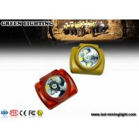 Buy cheap GLC-6A cree led headlamp rechargeable , waterproof LED helmet headlamp from wholesalers