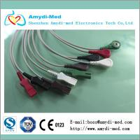 Buy cheap Spacelabs ECG leadwires,5 lead,AHA cable, snap/button type product