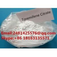 China 99% Purity Legal Oral Steroids Toremifene Citrate CAS 89778-27-8 Powder on sale