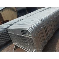 Buy cheap Metal New Crowd Control Barriers portable removable fence panels from wholesalers