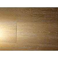 Buy cheap hand-scraped european oak white grain engineered wide plank floors from wholesalers