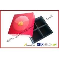 Luxury Corrugated Paper Board Box, Spot UV / Hot-stamping Rigid Gift Boxes For Food Packaging