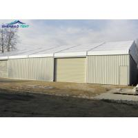 Buy cheap Large Industrial Storage Tents With Steel Walls And Automatic Shutter Door from wholesalers