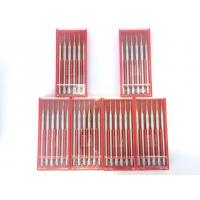 Buy cheap Polishing / Grinding Dental Carbide Burs 2.35mm Shank Silver White Color product