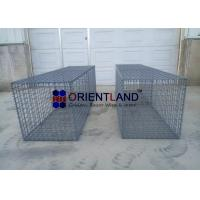 Buy cheap Rock Wall Welded Mesh Gabions , Wire Steel Mesh Wire Baskets Retaining Wall from wholesalers