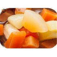 Buy cheap Natural Mixed Canned Fruit Cocktail Mandarin Orange Grape Pineapple Cherry from wholesalers
