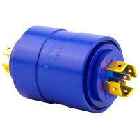 Buy cheap 6 Circuits LPR Series Slip Ring Brushless Slip Ring 15a Silver Plated Pin Connecting from wholesalers