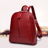 Buy cheap Genuine Leather Stylish Backpacks For Women / Real Cowhide Womens Travel Backpack  from wholesalers