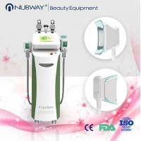 Buy cheap 4 in 1 cavitation Lipolaser RF Fat Freezing cryolipolysis machine Professional criolipolisis slimming machine from wholesalers