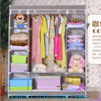 Buy cheap SW home closet bedroom furniture cloth wardrobe from wholesalers
