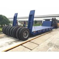 Buy cheap Panda Truck trailer 3 axle low led semi  trailer for sale in Qatar from wholesalers