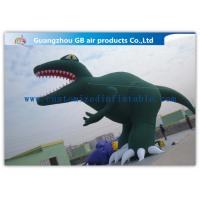 Buy cheap Green Inflatable Cartoon Characters Decoration Large Inflatable Dinosaur Model from wholesalers