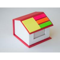 Buy cheap House shape box with memo and sticky note from wholesalers