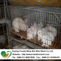 Buy cheap wire rabbit cages sale from wholesalers
