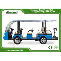 Buy cheap 11 Seats Electric Sightseeing Bus 4 Wheel Electric Shuttle Car from wholesalers
