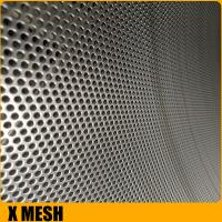 Buy cheap 0.1mm-2.5mm oval hole perforated metal sheet slot for Mid East from wholesalers